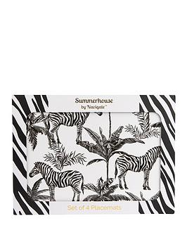 Summerhouse by Navigate Summerhouse By Navigate Madagascar Zebra Repeat  ... Picture