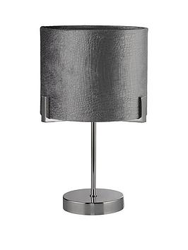 Very Textured Shade Table Lamp Picture