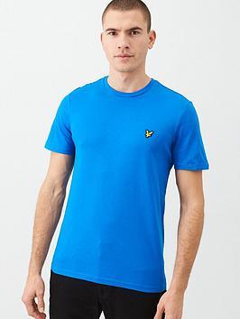 Lyle & Scott Lyle & Scott Plain T-Shirt - Cobalt Picture