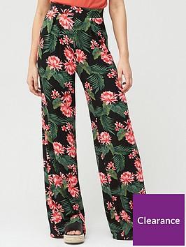 v-by-very-wide-leg-jersey-trouser-black-print