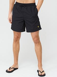 lyle-scott-plain-swimshort-black