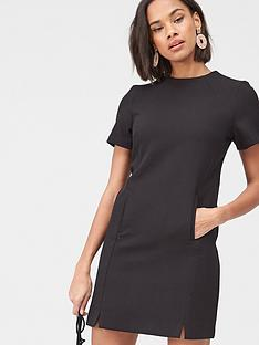 v-by-very-high-neck-simple-tunic-dress