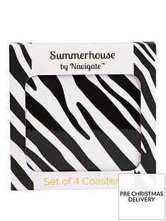 summerhouse-by-navigate-madagascar-zebra-stripe-coasters-ndash-set-of-4