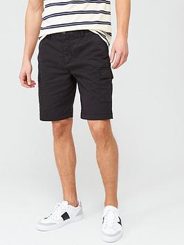 Lyle & Scott Lyle & Scott Cargo Shorts - Black Picture