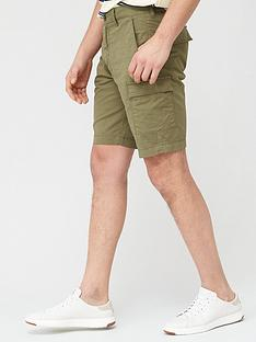 lyle-scott-cargo-shorts-green