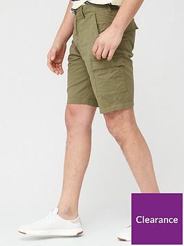 lyle-scott-cargo-shorts-green