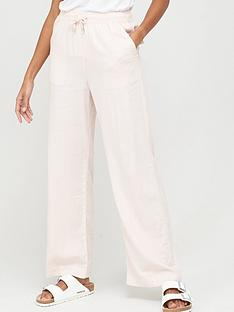 v-by-very-linen-mix-trouser-pink