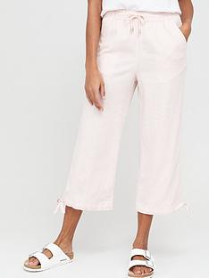 v-by-very-linen-mix-crop-trousers-pink