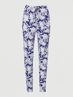 v-by-very-jersey-tapered-leg-trouser-navy-print