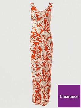 v-by-very-scoop-neck-jersey-maxi-dress-orange-print