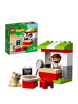 LEGO DUPLO Lego Duplo 10927 Pizza Stand For Toddlers With Dog Figure Picture