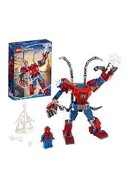 LEGO Super Heroes Lego Super Heroes 76146 Marvel Spider-Man Mech, Battle  ... Picture