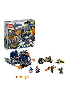 LEGO Super Heroes Lego Super Heroes 76143 Marvel Avengers Truck Take-Down Picture