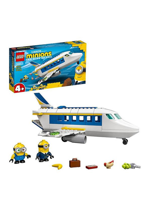 Lego 75547 Minion Pilot In Training Plane With Bob Stuart Littlewoods Com