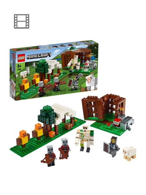 lego-minecraft-21159-the-pillager-outpost-with-iron-golem-figure