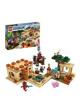 LEGO Minecraft Lego Minecraft 21160 The Illager Raid Picture