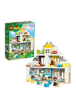 LEGO DUPLO Lego Duplo 10929 Modular Playhouse For Toddlers 3In1 Set Picture