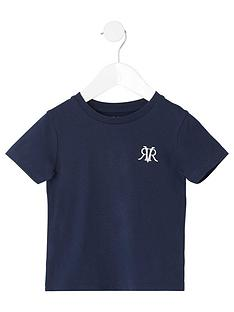river-island-mini-boys-rvr-embroidered-t-shirt--nbspnavy