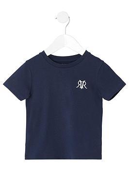 river-island-mini-boys-rvr-embroidered-t-shirt--nbspnavy