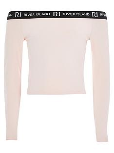 river-island-girls-long-sleeve-bardot-top--nbsppink