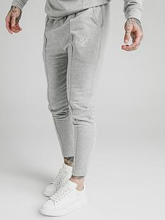 sik-silk-smart-pleated-joggers-grey