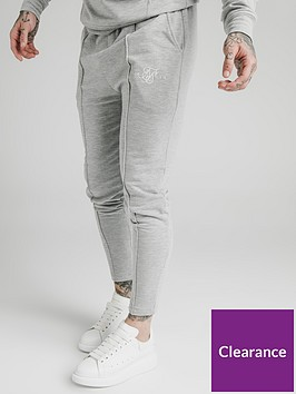 sik-silk-smart-pleated-joggers-grey
