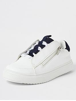river-island-boys-lace-up-zip-trainers-white