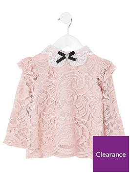 river-island-mini-girls-lace-embellished-collar-top--nbsppink