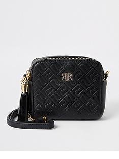river-island-girls-monogram-crossbody-bag-black
