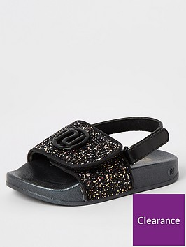 river-island-mini-girls-glitter-slider--nbspblack