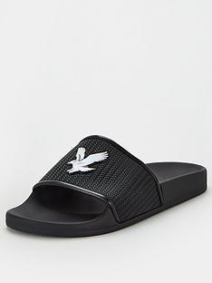 lyle-scott-eddie-slider-sandals-black