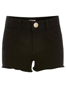 River Island River Island Girls Boyfriend Short-Black Picture