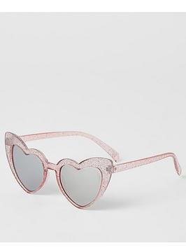 river-island-mini-mini-girls-heart-shape-sunglasses--pink
