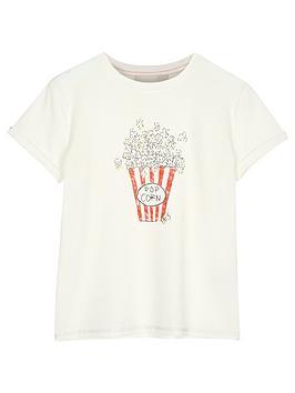 Mintie by Mint Velvet Mintie By Mint Velvet Girls Popcorn Short Sleeve  ... Picture