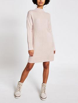 river-island-knitted-tunic-jumper-light-pink