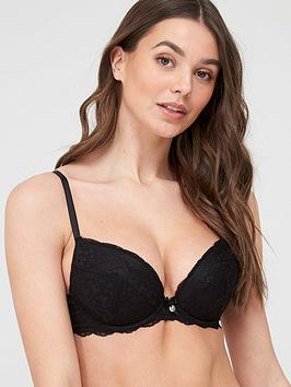 boux-avenue-mollie-lace-plunge-bra-black