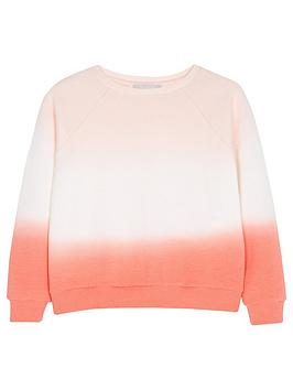 Mintie by Mint Velvet Mintie By Mint Velvet Girls Dip Dye Sweatshirt -  ... Picture