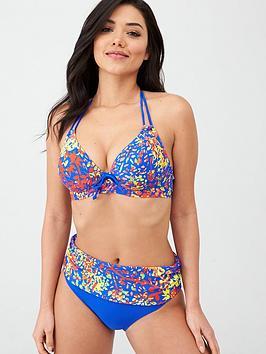 pour-moi-bohemia-halter-triangle-underwired-bikini-top-multi