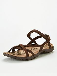 trespass-kimbra-leather-sandal-brownnbsp