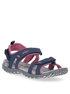 trespass-serac-sandals-navypink
