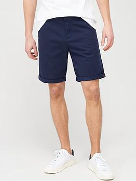 jack & jones Jack & Jones Jeans Intelligence Bowie Chino Shorts - Navy Picture