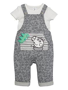 peppa-pig-baby-boy-george-pig-dungaree-and-t-shirt-set-grey