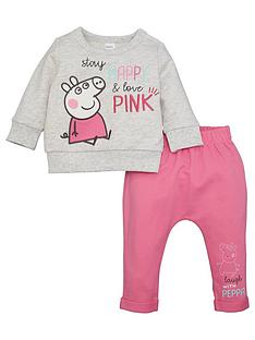 peppa-pig-baby-girl-peppa-pig-stay-happy-amp-love-pink-top-and-jogger-set-multi