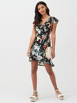 Pour Moi Pour Moi Miami Brights Wrap Dress - Multi Picture