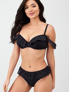 pour-moi-wanderlust-skirted-bikini-brief-black