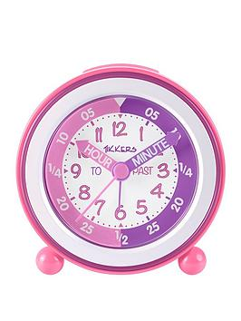 Tikkers Tikkers Time Teacher Alarm Clock &Ndash; Pink And Purple Picture