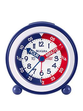 Tikkers Tikkers Time Teacher Alarm Clock &Ndash; Red And Blue Picture