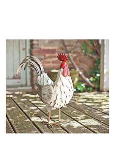 la-hacienda-decorative-steel-feathered-cockerel