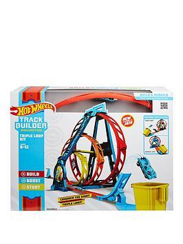 Hot Wheels Hot Wheels Track Builder Triple Loop Kit Picture