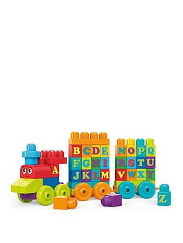 Mega Bloks Mega Bloks Abc Learning Train Picture